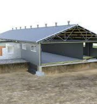 Wykonawstwo budynków inwentarskich, płyty warstwowe i konstrukcje stalowe