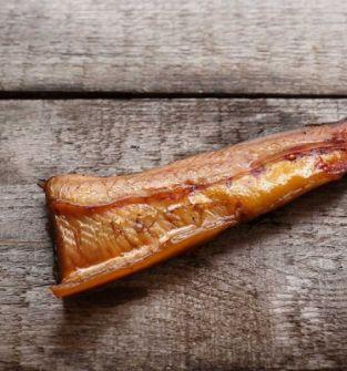 Jesiotr wędzony filet