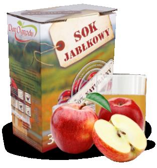 Sok jabłkowy 3L, 5L