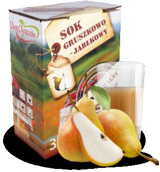 Sok jabłkowo-gruszkowy 3L