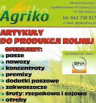 Artykuły do producji rolnej