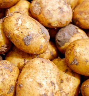 Ziemniaki,rabarbar