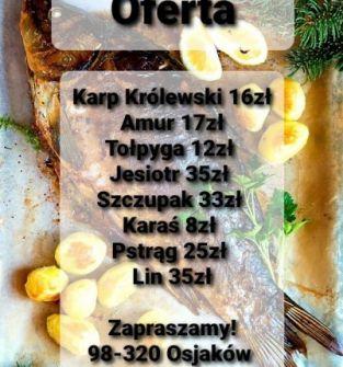 Sprzedaż świeżych ryb
