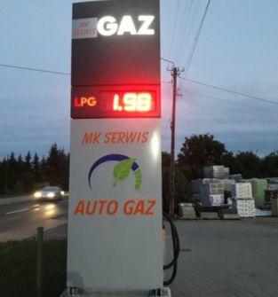 Stacja Auto Gaz