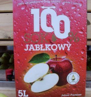 Sok jabłkowy 100% z dodatkmi