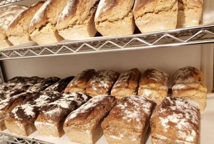 Chleb 100% żytni  1 kg, Chleb żytni 100% ze śliwką 1kg, Chleb 90% żytnio- 10% pszenny,  Ciasto drożdżowe 1kg